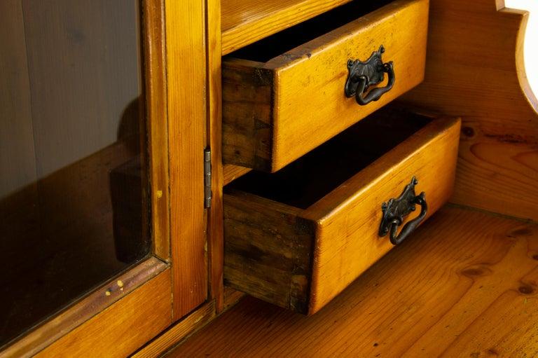 Antique Pine Sideboard, Farmhouse Sideboard, Kitchen Dresser, Scotland, 1880 For Sale 1