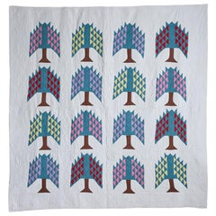 Antique Pine Tree Quilt