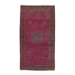 Antique Pink Khotan Rug