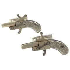Antique Pistol Cufflinks