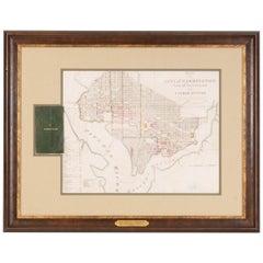 """Plan of the City of Washington"" Antique Washington D.C. Map, circa 1829"