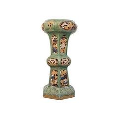 Antique Plant Stand, English, Ceramic, Decorative, Hall, Jardinière, Victorian