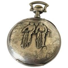 Antique Pocket Watch Signed a Pendula Numinense, Rio de Janeiro N20248