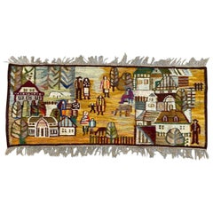 Antique Polish 1970s Tapestry from Piotr Grabowski