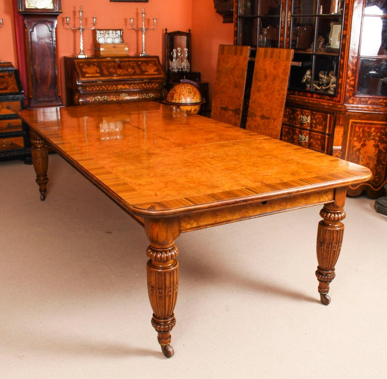 Antique Pollard Oak Victorian Extending Dining Table and ...