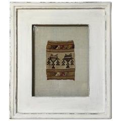 Antique Pre Colombian Textile Fregment