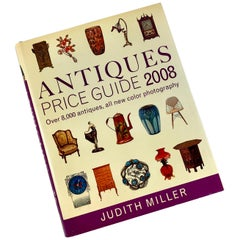 Antique Price Guide Book, Judith Miller 2008 First American Edition with Jacket