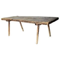 19th Century American Primitive Butcher's Table