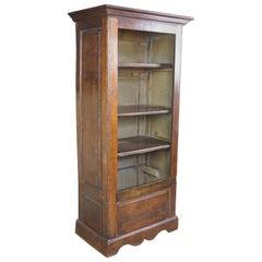 Antique Primitive Welsh Bookcase Cupboard Cabinet Linen Press Bookcase