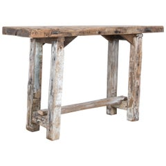 Antique Primitive Workbench