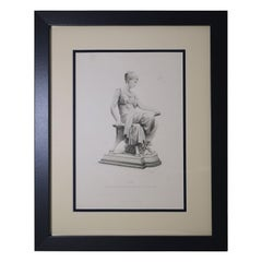 "Antique Print, ""IONE"""