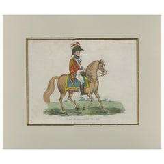Antique Print of General Rowland Hill by Evans, '1815'