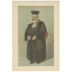 Antique Print of Hermann Adler Published in the Vanity Fair, 1904
