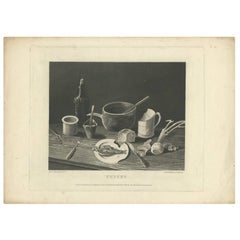 Antique Print of 'Penury' Made After P. Pasquin, 1796