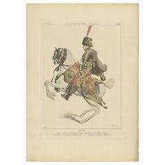 Antique Print of Sir Thomas Wharton by Jacquemin, 'c.1870'
