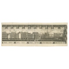 Antique Print of the Funeral of King Charles X Gustav of Sweden 'c.1660'