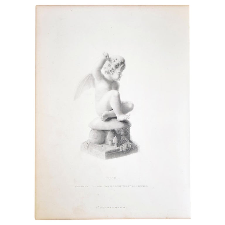"Antique Print, ""Puck"" For Sale"