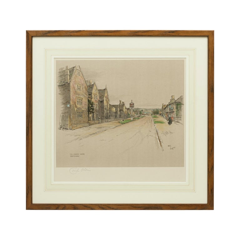 Antique Print, The Lygon Arms, Broadway by Cecil Aldin For Sale 4