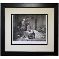 "Antique Print, ""The Parting"""
