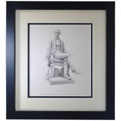"Antique Print, ""W. H. Seward"""