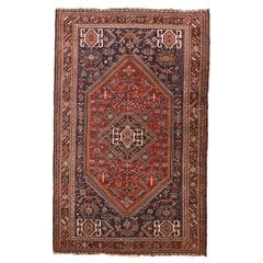 Antique Qashqai/Kashkai/Gashghai Persian Tribal Rug
