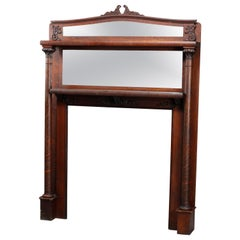 North American Mantel Mirrors and Fireplace Mirrors