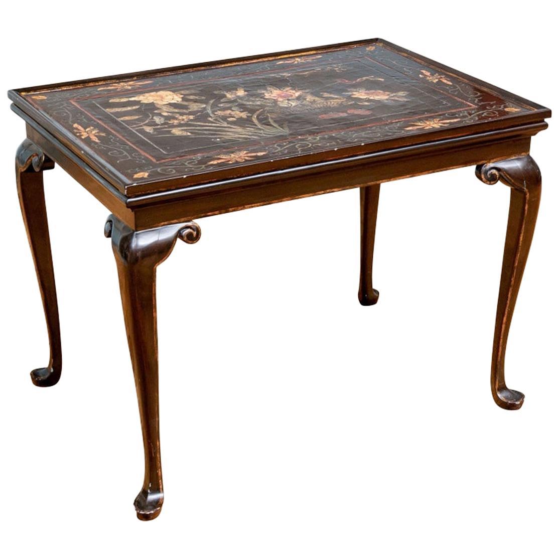 Antique Queen Ann Style Tea Table