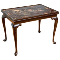 Antique Queen Ann Style Tea Table