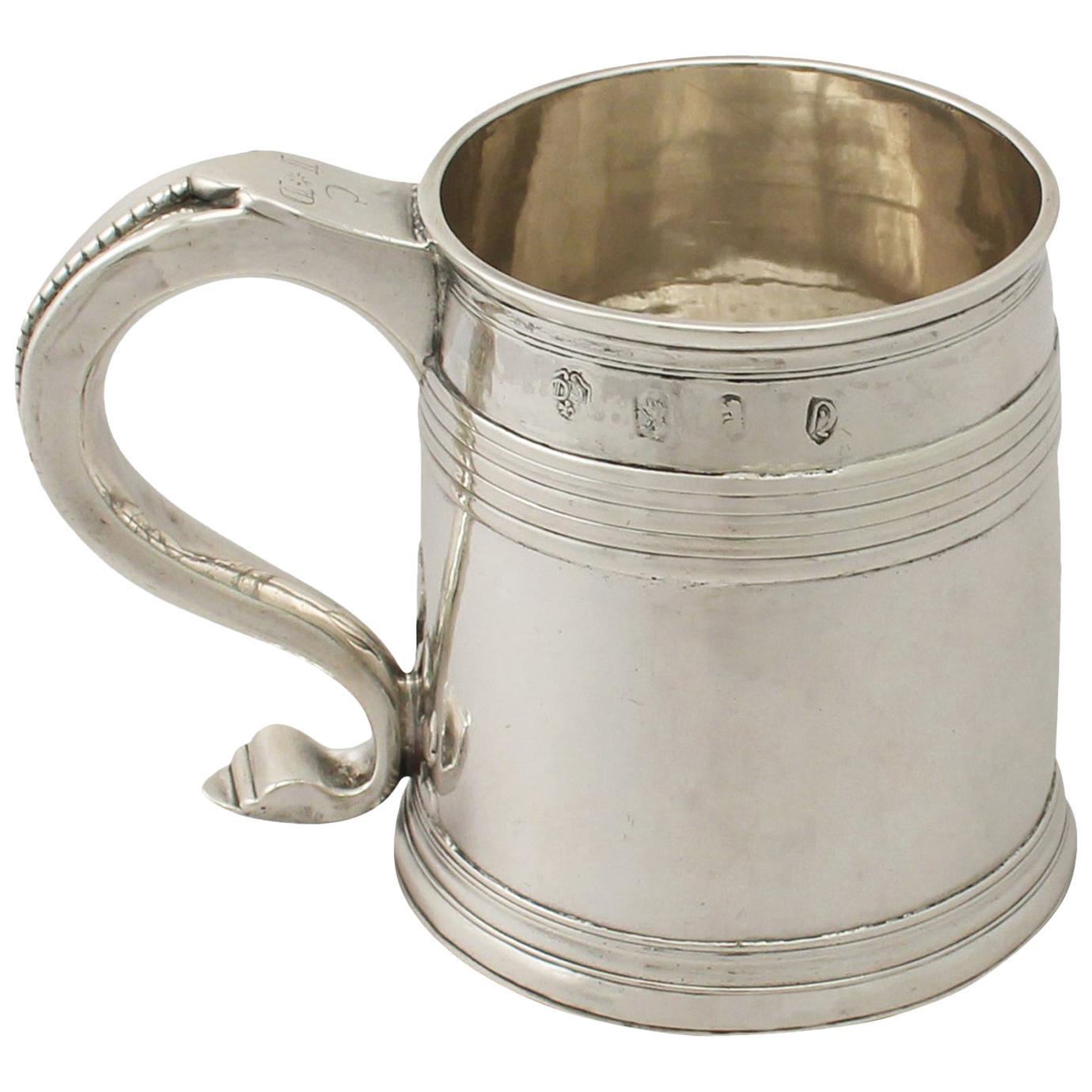 Antique Queen Anne Britannia Standard Silver Mug