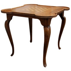 Antique Queen Anne Game Table