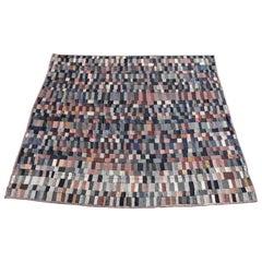 Antique Quilt / Amish Mini-Pieced Men's Suiting Quilt