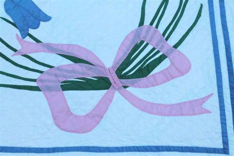 Antique Quilt, Applique Quilt, ll For Sale 1