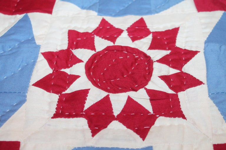 American Antique Quilt New York Beauty