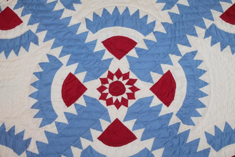 Hand-Crafted Antique Quilt New York Beauty