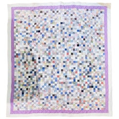 Antique Quilt Postage Stamp Quilt