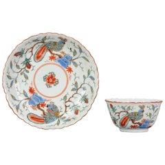 Antique Rare Kangxi Period Chinese Porcelain Dish Amsterdam Bont Parrot