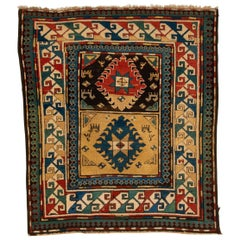 Antique Rare Kazak from Private Collection