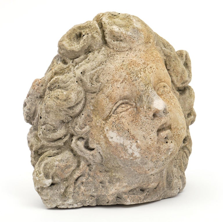 20th Century Antique Reconstituted Stone Sculpture For Sale