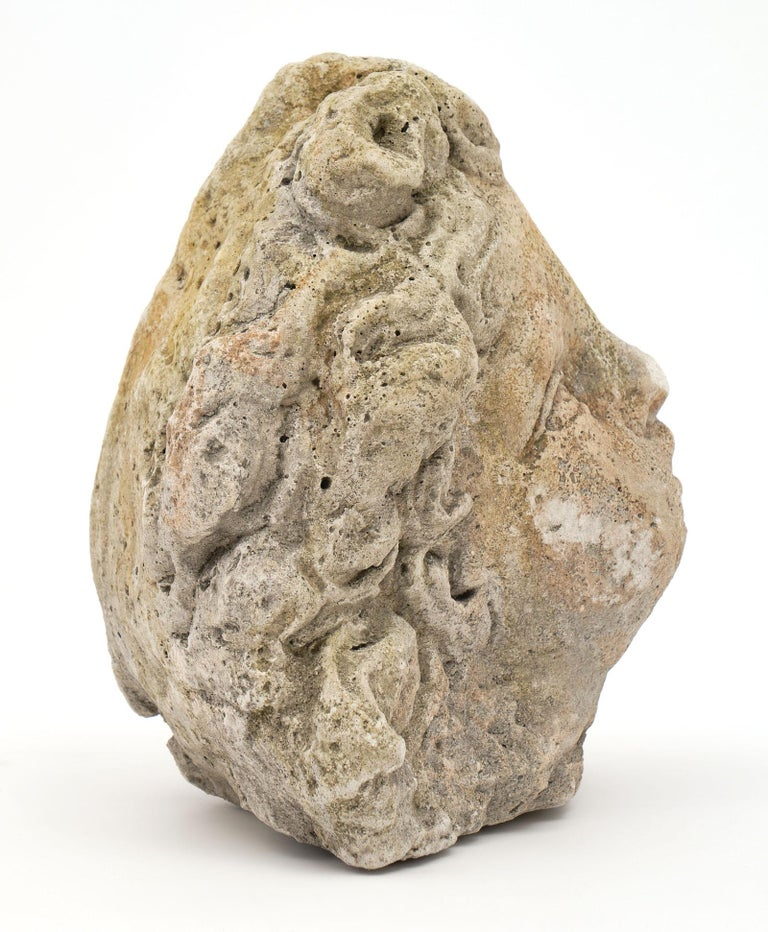 Antique Reconstituted Stone Sculpture For Sale 1