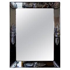 Antique Rectangular Louis XVI Style Venetian Mirror