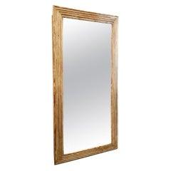 Antique Rectangular Mantelpiece Mirror-Directoire, France