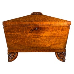 Antique Regency Casket or Cellaret, Early 19th Century English