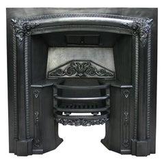 Antique Regency Cast Iron Fireplace Grate