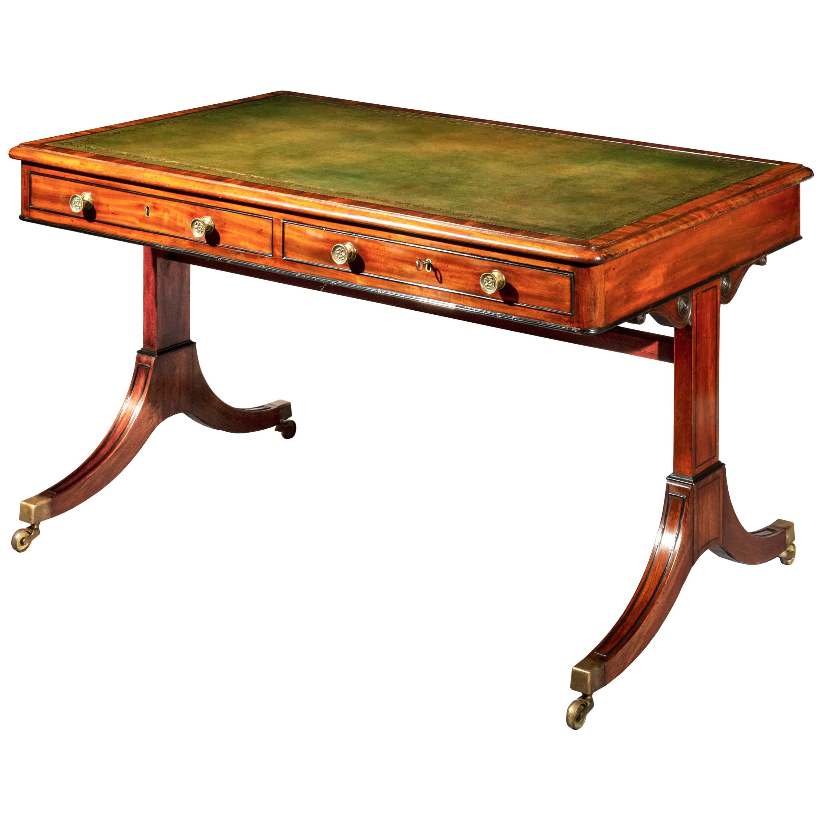 Antique Regency Desk or Writing Table
