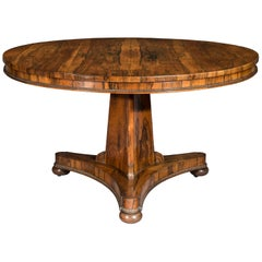 Antique Regency Dining Table, Early 19th Century, Sits Six