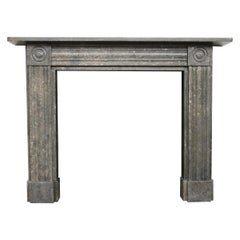 Antique Regency Fossil Marble Fire Surround