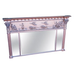 Antique Regency Gilt Overmantel Mirror
