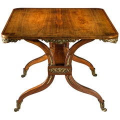 Antique Regency Desk or Library Table, circa 1810