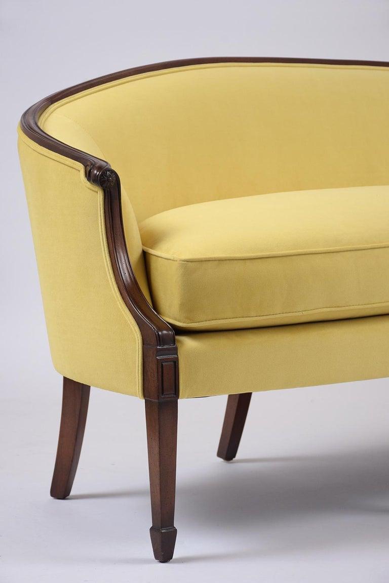 Antique Regency Mahogany Sofa For Sale At 1stdibs