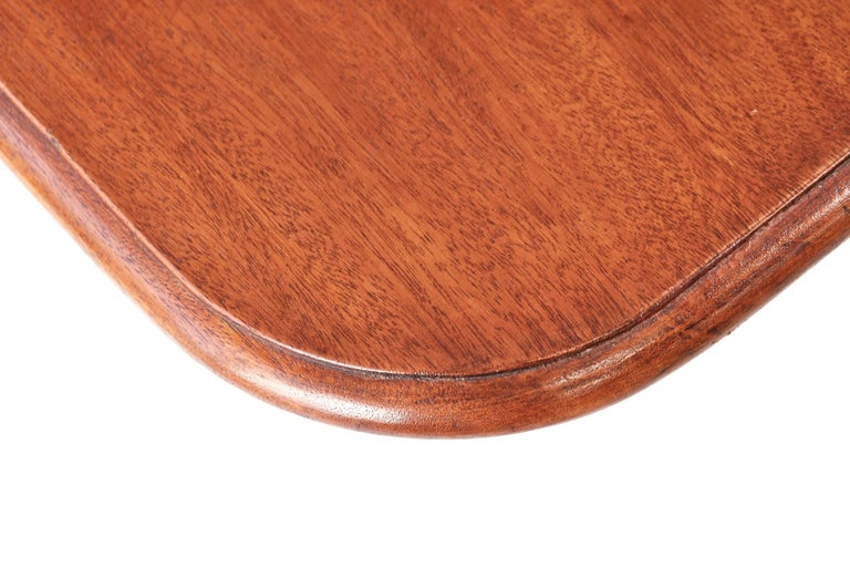 English Antique Regency Mahogany Tilt-Top Centre / Dining Table For Sale